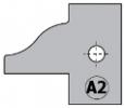 Комплект 2 ножей HM 25x29x2 (A2) для 694.015 (695.015.A2)