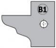 Комплект 2 ножей HM 25x29x2 (B1) для 694.015 (695.015.B1)