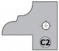 Комплект 2 ножей HM 25x29x2 (C2) для 694.015 (695.015.C2)