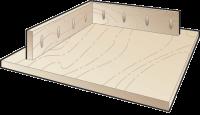Cоединение рамы и столешницы стола