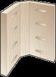Угловое соединение с фаской 90 гр. Kreg