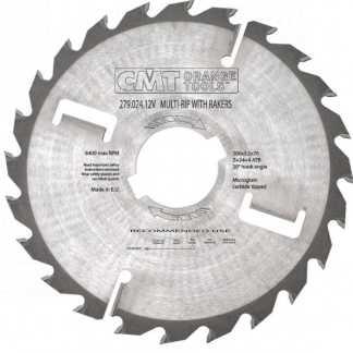 CMT-SHOP - Серия 279 пилы для многопильных станков с подрезными ножами